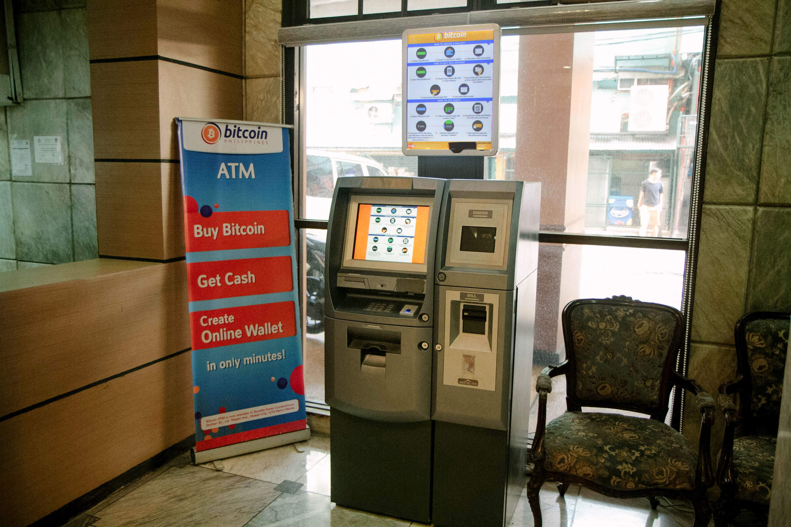 Bitcoin atm in makati a pensive peanut bitcoin atm in makati ccuart Choice Image
